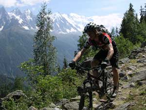 Mountain Bike Chamonix Zermatt Switzerland Alps Specialist Mtb ...