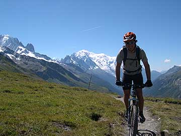 Chamonix Mountain Bike Holiday - Guided Mountain Bike Holidays ...